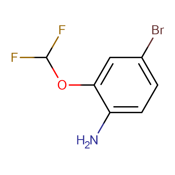 4-Bromo-2-(difluoromethoxy)aniline