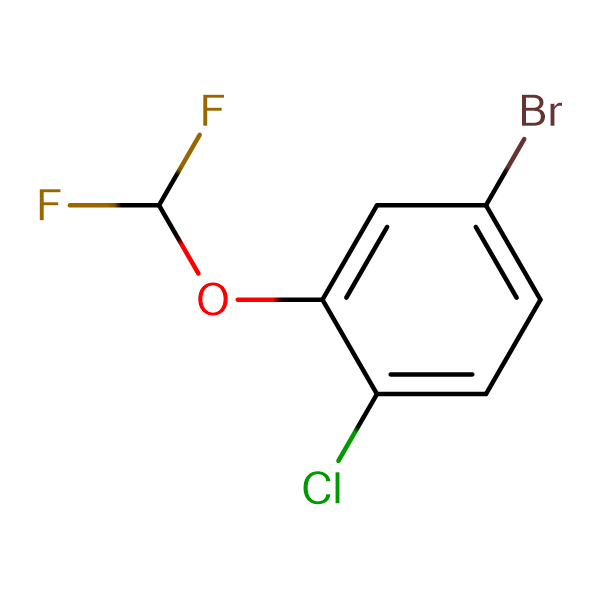 5-Bromo-2-chloro-(difluoromethoxy)benzene