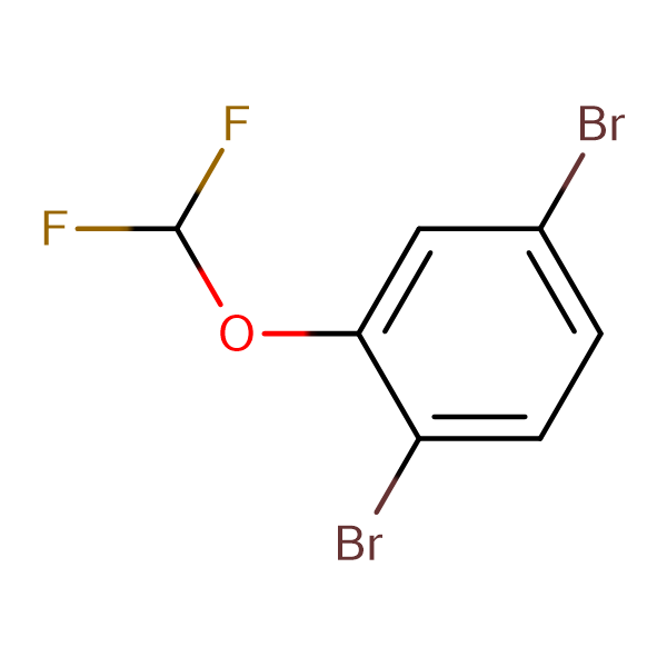 1,4-Dibromo-2-(difluoromethoxy)benzene