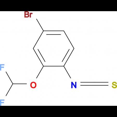 4-Bromo-2-(difluoromethoxy)phenylisothiocyanate