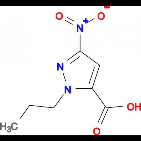 5-Nitro-2-propyl-2H-pyrazole-3-carboxylic acid