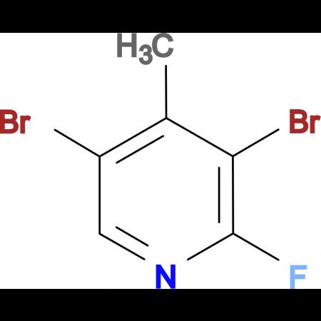 3,5-Dibromo-2-fluoro-4-methylpyridine