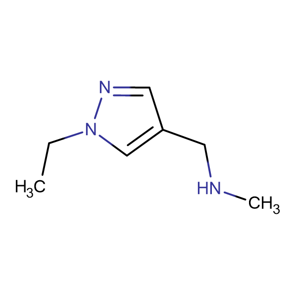 (1-Ethyl-1H-pyrazol-4-yl-methyl) methylamine
