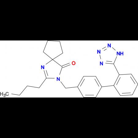 2-Butyl-3-[2'-(1H-tetrazol-5-yl)biphenyl-4-ylmethyl]1,3-diaza-spiro[4.4]non-1-en-4-one