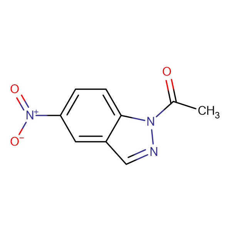 1-Acetyl-5-nitroindazole