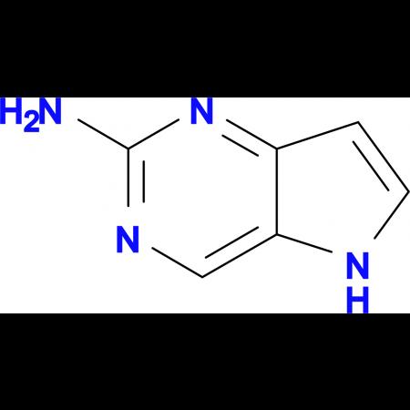 2-Amino-5H-pyrrolo[3,2-d]pyrimidine