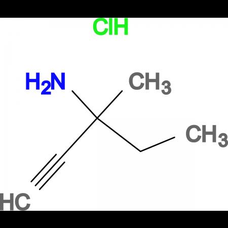 3-Amino-3-methyl-1-pentyne hydrochloride