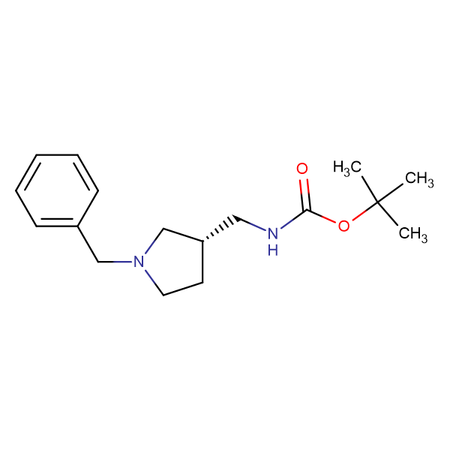 (S)-1-Benzyl-3-N-Boc-aminomethylpyrrolidine