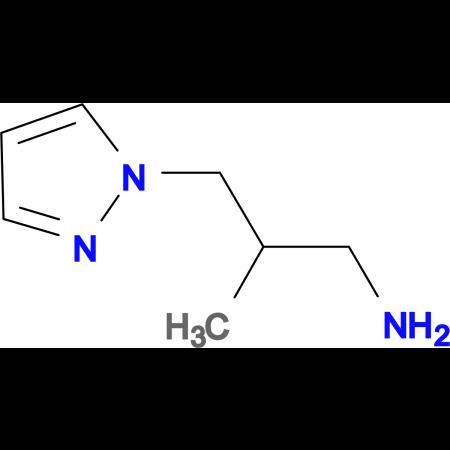 2-Methyl-3-(2H-pyrazol-1-yl)propyl amine