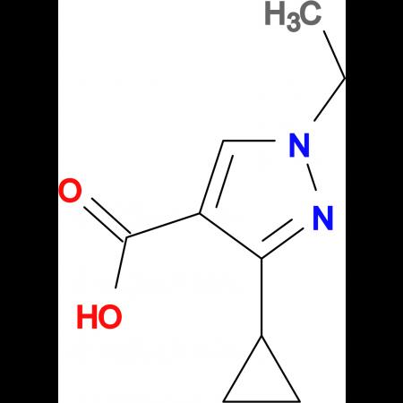 3-Cyclopropyl-1-ethyl-1H-pyrazole-4-carboxylic acid