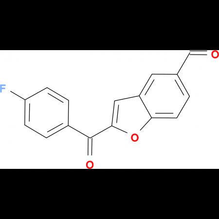 2-(4-Fluoro-benzoyl)-benzofuran-5-carbaldehyde