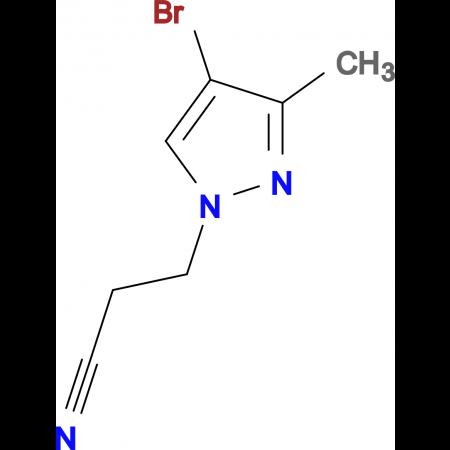 3-(4-Bromo-3-methyl-pyrazol-1-yl)-propionitrile