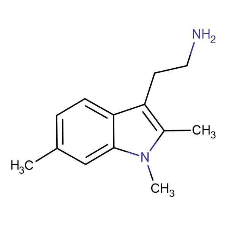 2-(1,2,6-Trimethyl-1H-indol-3-yl) ethylamine