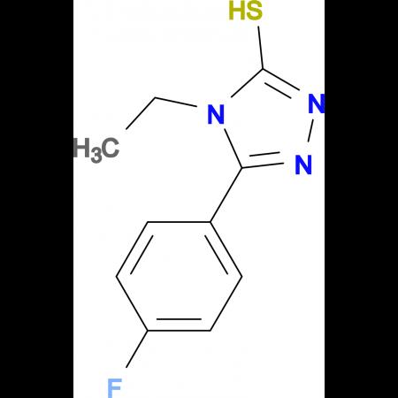 4-Ethyl-5-(4-fluorophenyl)-1,2,4-triazole-3-thiol