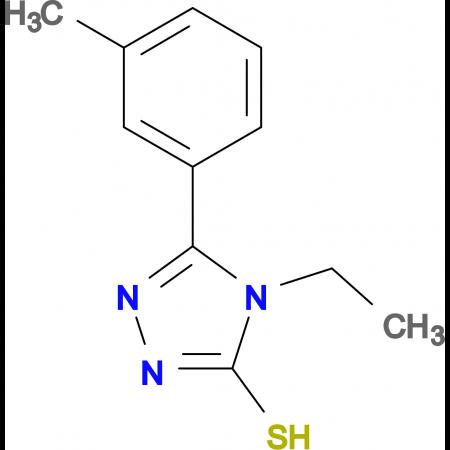 4-Ethyl-5-m-tolyl-4H-[1,2,4]triazole-3-thiol