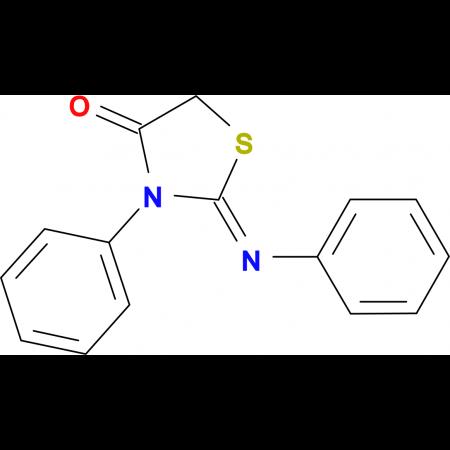 3-Phenyl-2-[(Z)-phenylimino]-thiazolidin-4-one