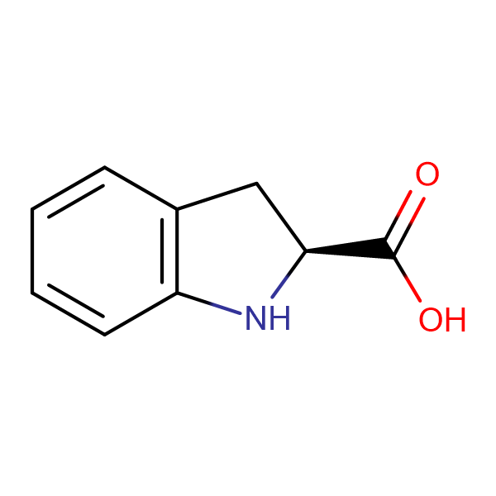 L-(-)-Indoline-2-carboxylic acid