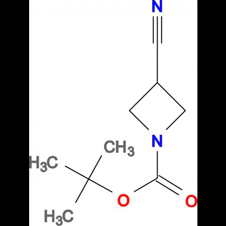 1-N-Boc-3-cyano-azetidine