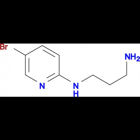 2-N-(3-Aminopropyl)-amino-5-bromopyridine