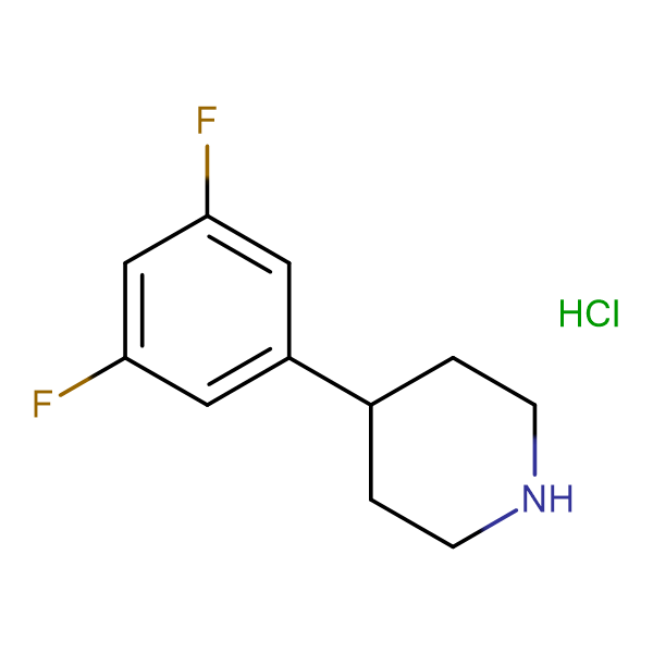 4-(3,5-Difluorophenyl)piperidine hydrochloride