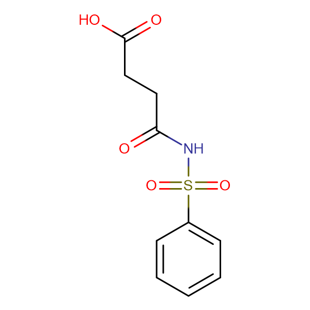 Succinic acid-mono-N-phenylsulfonylamide