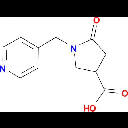 5-Oxo-1-(4-pyridinylmethyl)-3-pyrrolidinecarboxylic acid