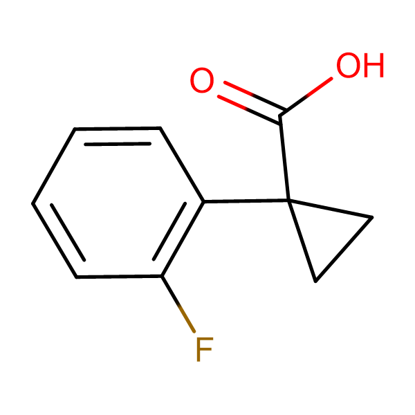 1-(2-Fluorophenyl)cyclopropanecarboxylic acid