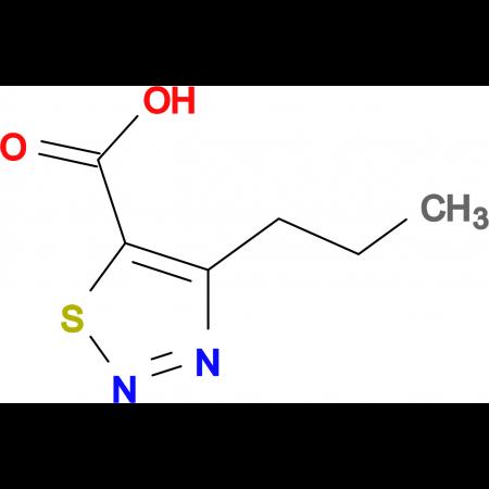 4-Propyl-1,2,3-thiadiazole-5-carboxylic acid