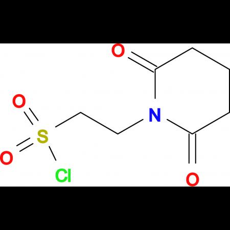 2-(2,6-Dioxopiperidin-1-yl)ethanesulfonyl chloride