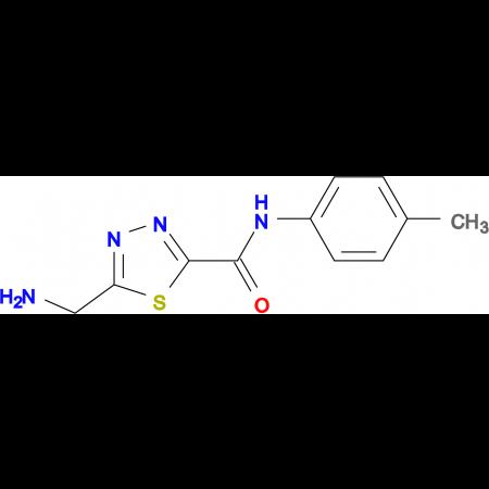 5-(Aminomethyl)-N-(4-methylphenyl)-1,3,4-thiadiazole-2-carboxamide