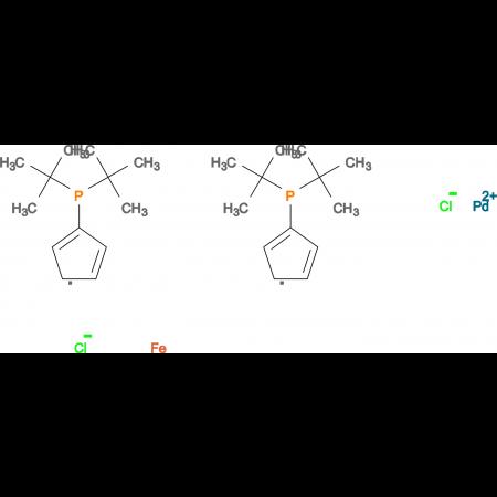 1,1'-Bis(di-tert-butylphosphino) ferrocene palladium chloride