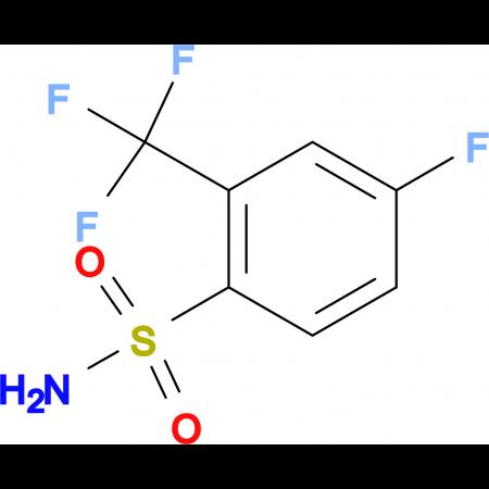 4-Fluoro-2-trifluoromethylbenzenesulfonamide