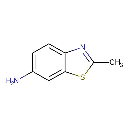 2-Methyl benzo[d]thiazol-6-amine
