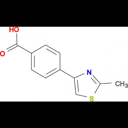 4-(2-Methyl-1,3-thiazol-4-yl)benzoic acid