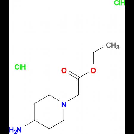 (4-Amino-piperidin-1-yl)acetic acid ethyl ester dihydrochloride
