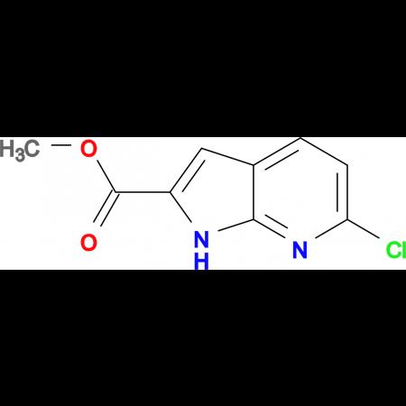 Methyl 6-chloro-1H-pyrrolo[2,3-b]pyridine-2-carboxylate