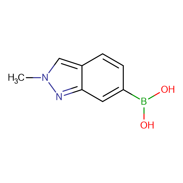 2-Methyl-1H-indazole-6-boronic acid