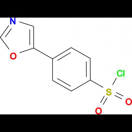 4-Oxazol-5-yl-benzenesulfonyl chloride
