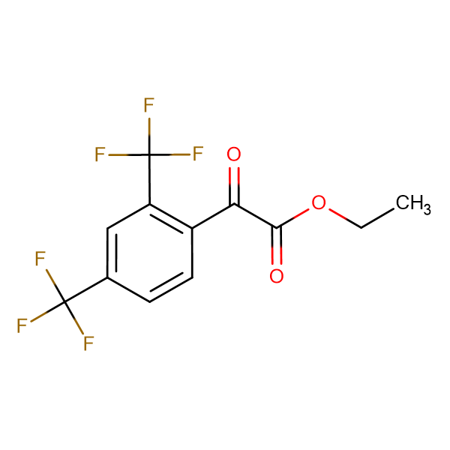 (2,4-Bis-trifluoromethyl-phenyl)-oxo-acetic acidethyl ester