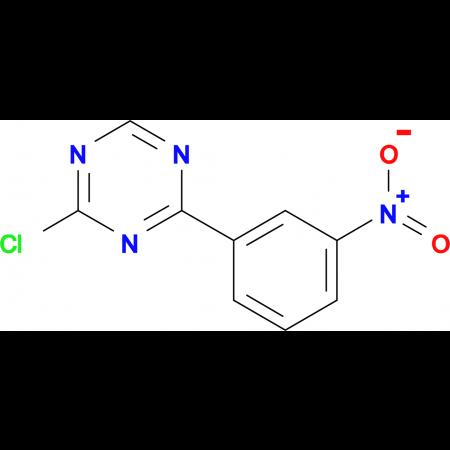2-Chloro-4-(3-nitro-phenyl)-[1,3,5]-triazine