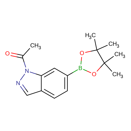 1-Acetyl-1H-indazole-6-boronic acid, pinacol ester