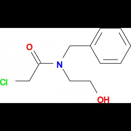 N-Benzyl-2-chloro-N-(2-hydroxyethyl)acetamide