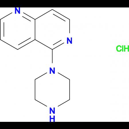 5-Piperazin-1-yl-1,6-naphthyridine hydrochloride