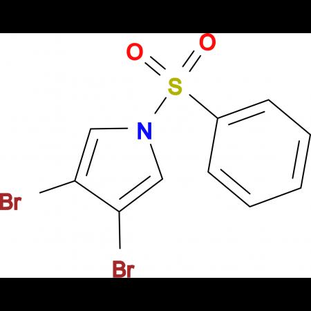 1-Benzenesulfonyl-3,4-dibromo-1H-pyrrole