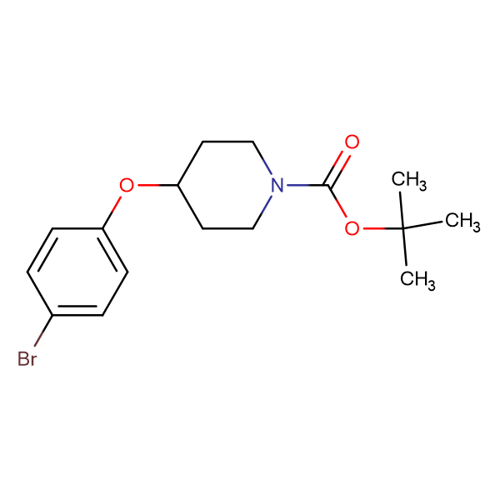 1-N-Boc-4-(4-Bromophenoxy)piperidine