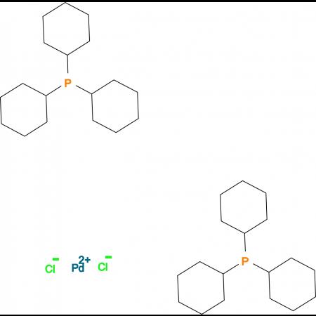 Dichloro(tricyclohexylphosphine)palladium (II)