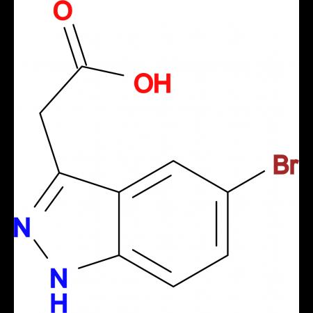 5-Bromo-1H-indazole-3-acetic acid