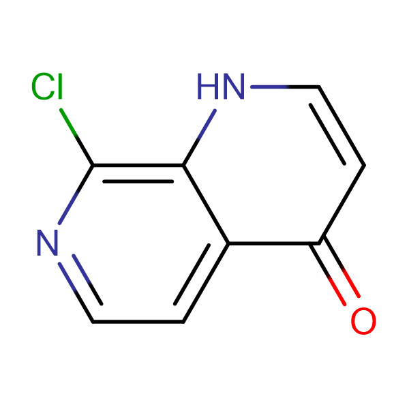 8-Chloro-1H-1,7-naphthyridin-4-one