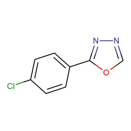2-(4-Chlorophenyl)-1,3,4-oxadiazole