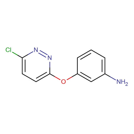 3-(6-Chloro-3-pyridazinyloxy)phenylamine
